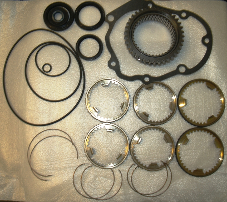 01E Trans Rebuild Set With Composite Syncros